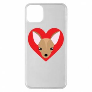 Phone case for iPhone 11 Pro Max A little dog