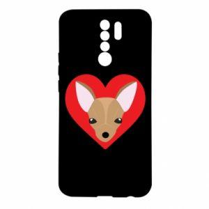 Etui na Xiaomi Redmi 9 Mały pies
