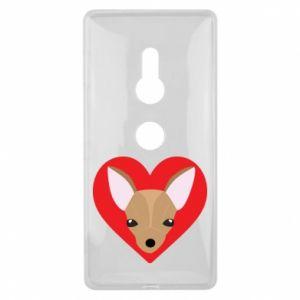 Etui na Sony Xperia XZ2 Mały pies