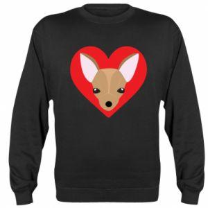 Sweatshirt A little dog