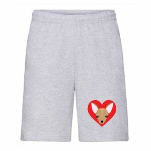 Men's shorts A little dog