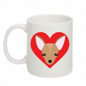 Mug 330ml A little dog