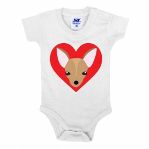 Baby bodysuit A little dog