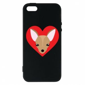 Phone case for iPhone 5/5S/SE A little dog
