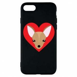 Phone case for iPhone 8 A little dog