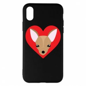 Phone case for iPhone X/Xs A little dog