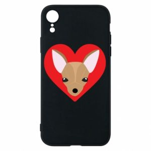 Phone case for iPhone XR A little dog
