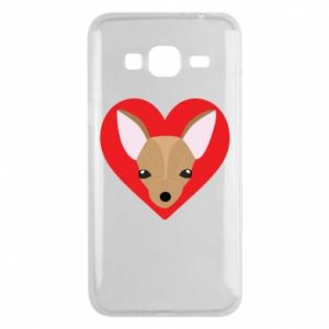 Phone case for Samsung J3 2016 A little dog