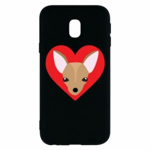 Phone case for Samsung J3 2017 A little dog