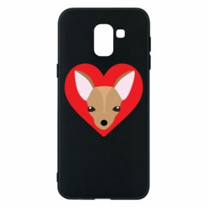 Phone case for Samsung J6 A little dog