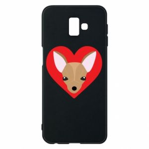 Phone case for Samsung J6 Plus 2018 A little dog