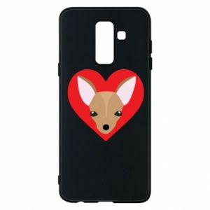 Phone case for Samsung A6+ 2018 A little dog