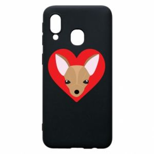 Phone case for Samsung A40 A little dog