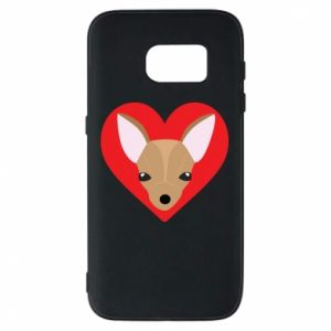 Phone case for Samsung S7 A little dog