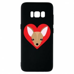 Phone case for Samsung S8 A little dog
