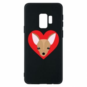 Phone case for Samsung S9 A little dog