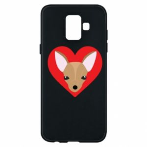 Phone case for Samsung A6 2018 A little dog