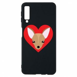 Phone case for Samsung A7 2018 A little dog