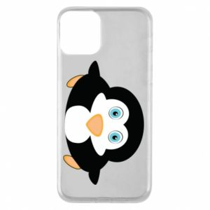 Phone case for iPhone 11 Little penguin looks up