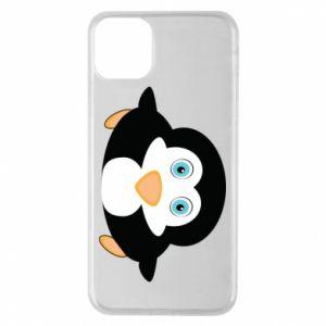 Etui na iPhone 11 Pro Max Mały pingwin podnosi wzrok