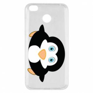 Etui na Xiaomi Redmi 4X Mały pingwin podnosi wzrok