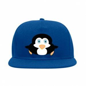 SnapBack Little penguin looks up