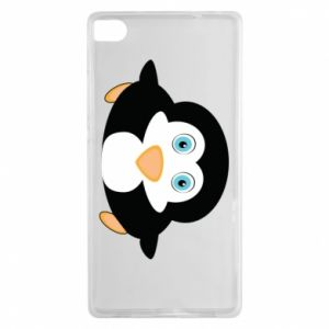 Etui na Huawei P8 Mały pingwin podnosi wzrok