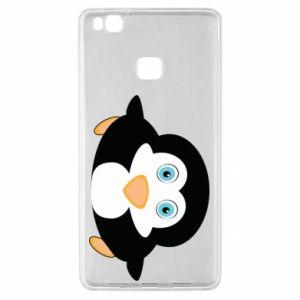 Etui na Huawei P9 Lite Mały pingwin podnosi wzrok