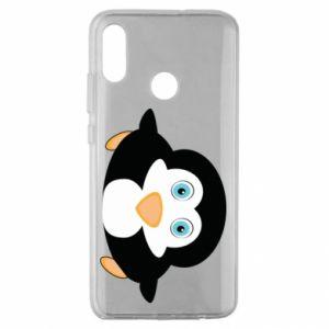 Etui na Huawei Honor 10 Lite Mały pingwin podnosi wzrok