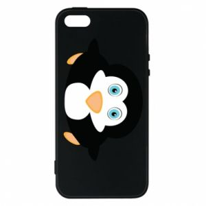 Phone case for iPhone 5/5S/SE Little penguin looks up
