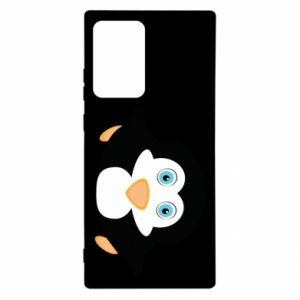 Etui na Samsung Note 20 Ultra Mały pingwin podnosi wzrok