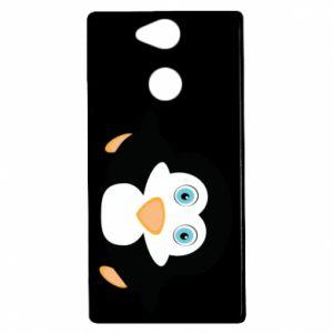 Etui na Sony Xperia XA2 Mały pingwin podnosi wzrok