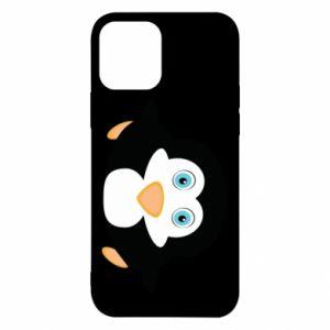 Etui na iPhone 12/12 Pro Mały pingwin podnosi wzrok