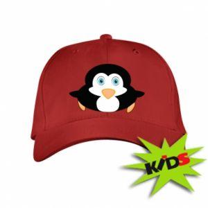 Kids' cap Little penguin looks up