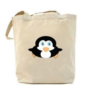 Torba Mały pingwin podnosi wzrok - PrintSalon