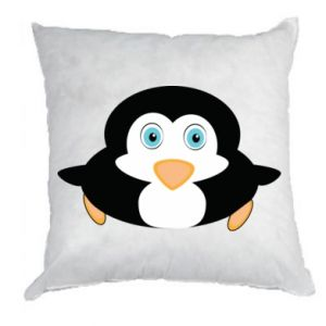 Pillow Little penguin looks up