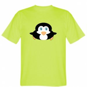 T-shirt Little penguin looks up