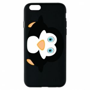 Phone case for iPhone 6/6S Little penguin looks up