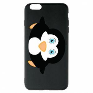 Phone case for iPhone 6 Plus/6S Plus Little penguin looks up