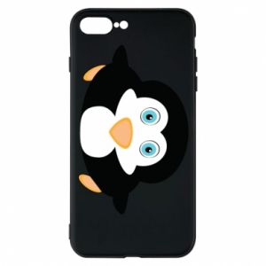 Phone case for iPhone 7 Plus Little penguin looks up