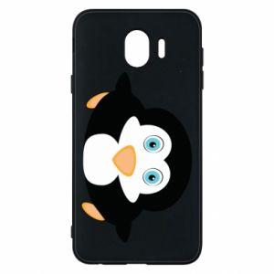 Etui na Samsung J4 Mały pingwin podnosi wzrok