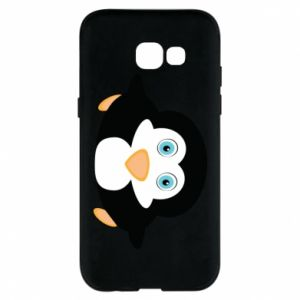 Phone case for Samsung A5 2017 Little penguin looks up