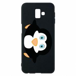 Phone case for Samsung J6 Plus 2018 Little penguin looks up