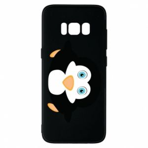 Phone case for Samsung S8 Little penguin looks up