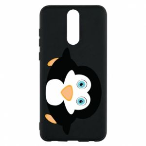 Phone case for Huawei Mate 10 Lite Little penguin looks up