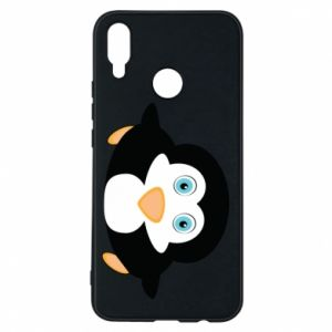 Phone case for Huawei P Smart Plus Little penguin looks up