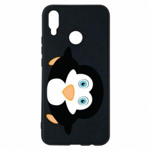 Etui na Huawei P Smart Plus Mały pingwin podnosi wzrok