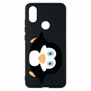 Phone case for Xiaomi Mi A2 Little penguin looks up