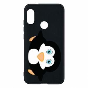 Phone case for Mi A2 Lite Little penguin looks up