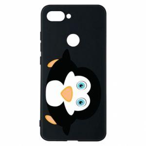 Etui na Xiaomi Mi8 Lite Mały pingwin podnosi wzrok